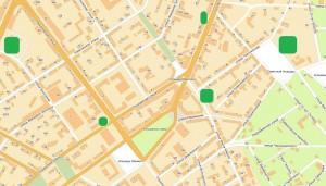 Создание контрольных зон на карте