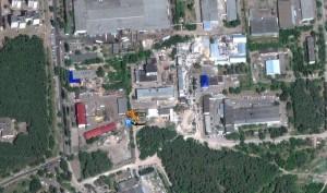 Режим спутникового снимка