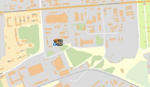 Промышленные зоны на картах Яндекс